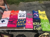 Hollister and Abercrombie t shirts Knoxville, 37938
