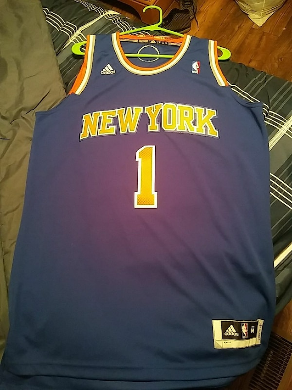 ab240fa9d6c Used blue New York Knicks Adidas Amare Stoudemire NBA jersey for sale in  Kernersville - letgo