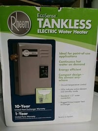 black and gray tankless water heater Tampa, 33613