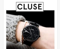 Brand new Cluse Watch Black Marble $60 firm Toronto, M3J