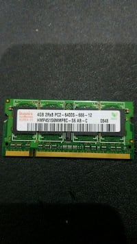 4GB ddr 2 laptop ram