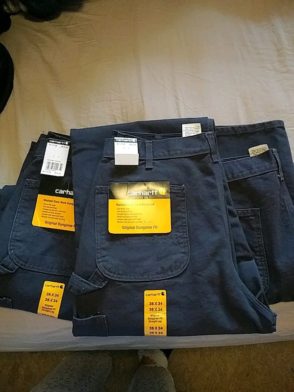 a8dfbe3df14 Used Three brand new Carhartt pants for sale in Everett - letgo