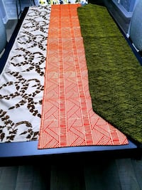 3 NEW table runners!!