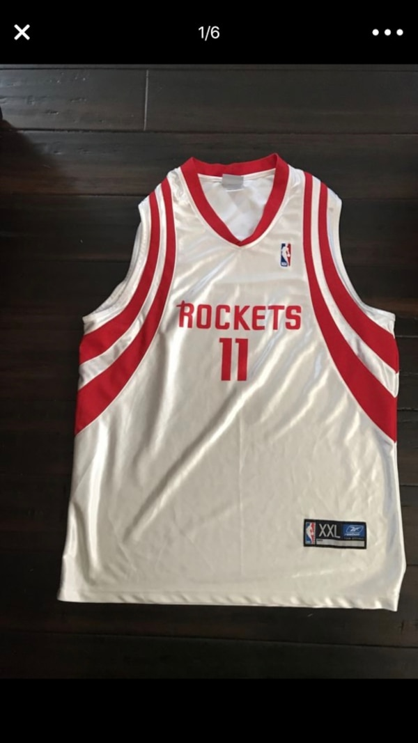 big sale 5f574 7ff35 NBA Men's Basketball Jersey Yao Ming Houston Rockets