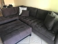 L shape sectional couch with ottoman Merritt Island, 32953