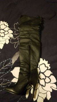 6 inch high thigh boots size 6 real leather Baltimore, 21224