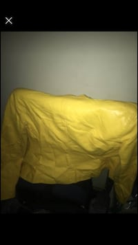 Yellow leather med