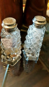BIRKS STERLING SILVER SALT AND PEPPER SHAKERS