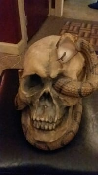 Skull head with snake South Bend, 46637
