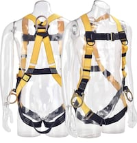 WELKFORDER 3D-Ring Industrial Fall Protection Safety Harness New York, 10460