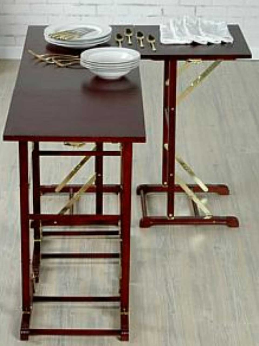 Totally Tables  4 Interlocking Wood Tables, New In Canton   Letgo