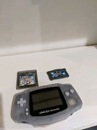 black Nintendo Game Boy Advance with game cartridges Hanover, 21076