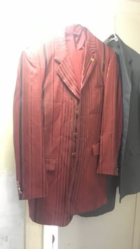 two red and black notched lapel suit jackets Washington, 20002