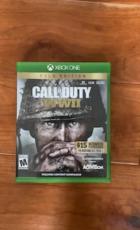 Call of duty WW2 gold edition (xbox one)