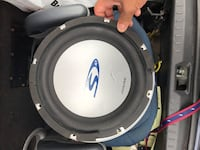 Alpine type S10 subwoofer Wappingers Falls, 12590