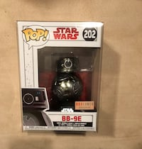 Funko Pop New! Star Wars - BB- 9E - BoxLunch Exclusive for $12