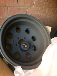 Pro comp flat black rims  Vaughan