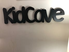 Kid Cave wooden wall decor
