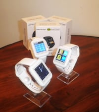 White Colour Smart  Watches