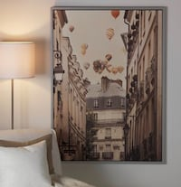IKEA poster- Hot air balloon Montréal, H4R 0K9