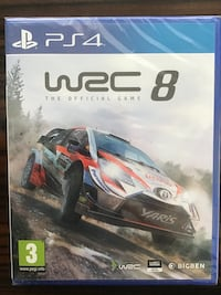 WRC 8 The Official Game [PS4]