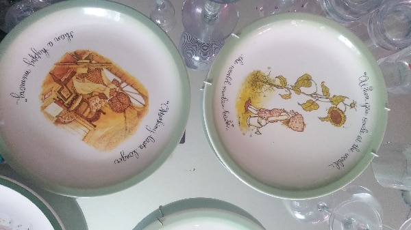 Holly Hobbies collector be plates