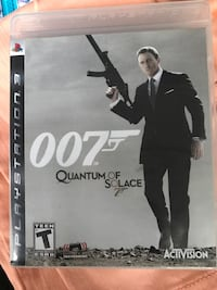 EUC Quantum of Solace PS3 Game in Case. Fort Atkinson, 53538