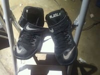 pair of black Air Jordan basketball shoes Fairborn, 45324