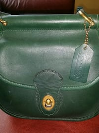 women's green leather sling bag Stratford, 06615