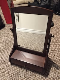 Mirror with a small drawer Sherwood Park, T8A 3G5