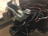 Black and gray jogging stroller Methuen, 01844