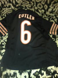 black, white, and yellow 6 Cutler jersey Chicago, 60639