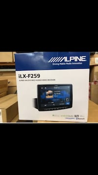 "Alpine Halo9 9"" Single Din Mech-Less Digital Media Receiver  Gardena, 90249"