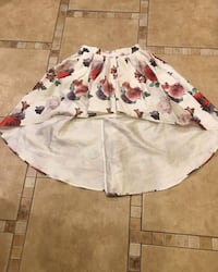 white and red floral dress Chicago, 60639