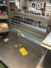 INDUSTRIAL / STORAGE SHELVING- DOUBLE SIDED- 8 shelves total back to back Arlington, 22204