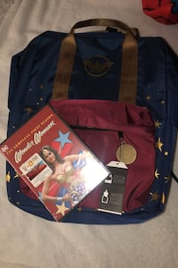 Wonder Woman book bag and older first season series Woodbridge, 22191