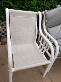 6 patio chairs with cushions Markham, L6C 0A5