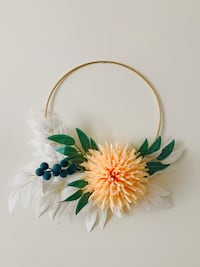 Flower Hoop Decor