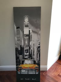 NYC taxi hardframe poster Westmount, H3Y 1P4