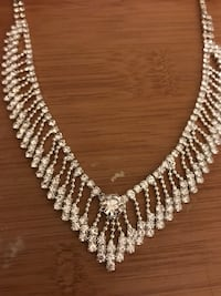 Beautiful Silver Diamond Necklace  Methuen, 01844
