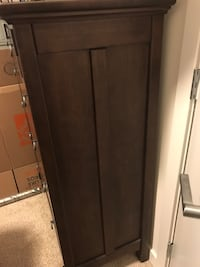 brown wooden 2-door cabinet Silver Spring, 20910