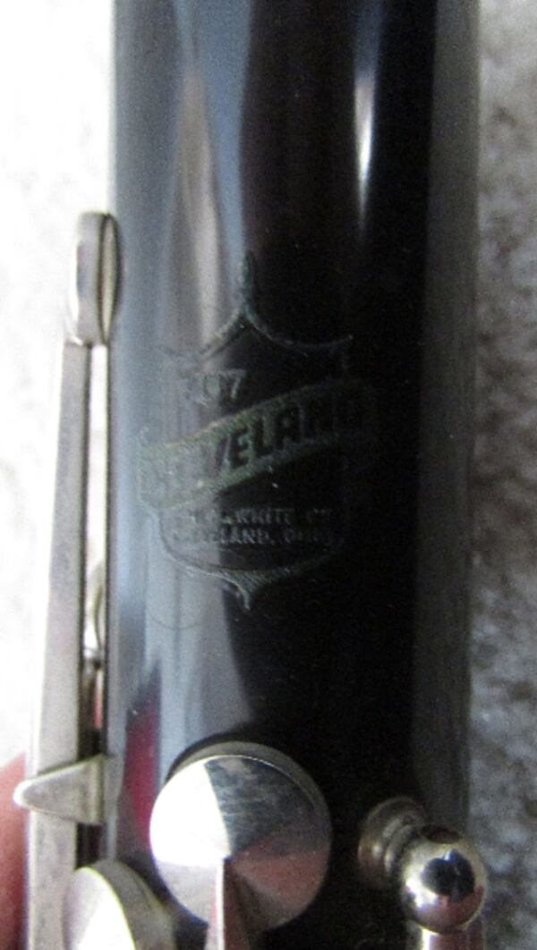 Vintage King Cleveland 707 Clarinet H.N White Co. with Selmer Mouthpiece Circa 1930-1935 2ac66187-c79c-4cff-a2aa-8b602a5461a5
