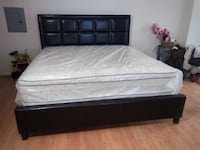 Brand new king size platform bed frame with pillowtop mattress Silver Spring, 20902