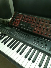 black and red electronic keyboard Mojave, 93501