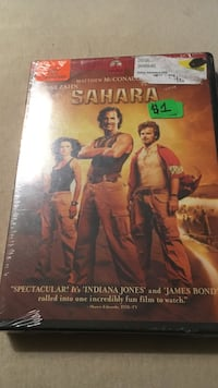 Sahara DVD case