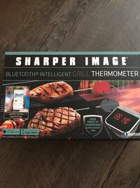 Sharper Image Bluetooth thermometer BBQ Grilling brand new  New York, 11215