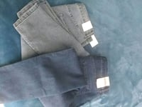 two black and gray denim bottoms Bakersfield, 93307