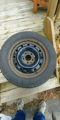 4 Michelin ice snow tires with rims Cambridge, N1R 7M1