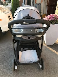 baby's black and white stroller Vaughan, L6A 2C9
