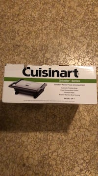 Cuisinart  Panini Press and Contact Grill Clinton, 20735